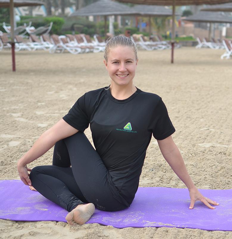 Abu Dhabi Yoga Personal Trainer Leila
