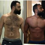 Abu Dhabi PT Hamada - client body transformation images