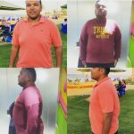 Abu Dhabi PT Hamada - client weight loss images