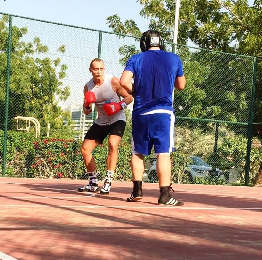 Boxing Coach In Dubai - Marc Larsen