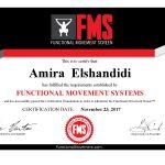 Coach Amira - Training Certificate - coaching in Amman