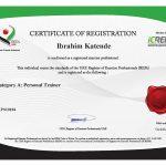 Dubai PT Kat - UAE Reps Certificate