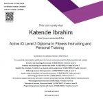 Level 3 Diploma In Persona Training - Dubai Coach Kat Ibrahim