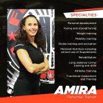 Online PT in Amman for ladies - coach Amira