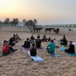 Outdoor Yoga Training In Abu Dhabi With Coach Elena