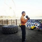 Outdoor personal training in Dubai with Coach Aly
