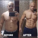 Personal Trainer in Manama Fouad Saeed - Client Before & After Image 1