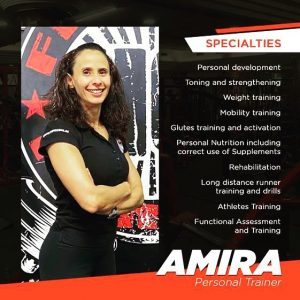 Personal training for ladies in Doha with Coach Amira - Diet, nutrition and body toning