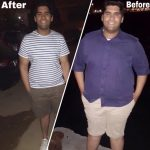 Weight Loss Fitness Coach In Amman Fouad - Client Before & After Image 5