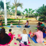 yoga classes for children in abu dhabi with personal trainer aileen graham