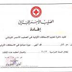 First Aid Certificate - Joe
