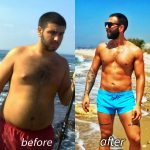 Joe - Dubai PT - Client weight loss before and after image