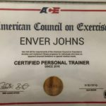 Enver Johns - Dubai PT Training Certificate
