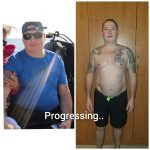 Weight Loss Client Results Images - Personal Trainer Dubai Noufal