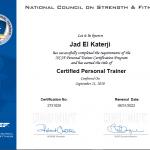 PT Jad - Training Certificate 1
