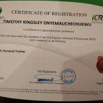 Dubai PT Kingsley - Personal Training Certificate 3