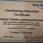 Dubai PT Kingsley - Personal Training Certificate 4