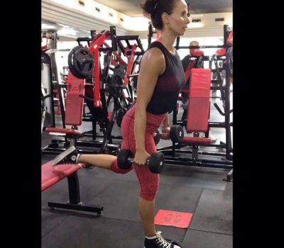Online personal training for ladies in Amman with coach Amira