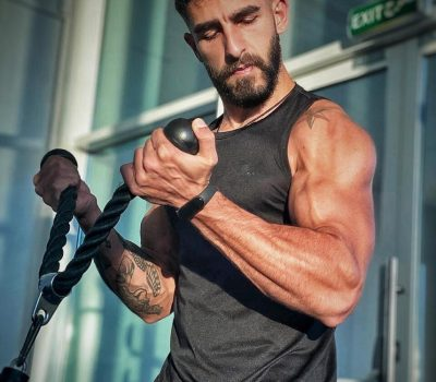 Online personal training in Beirut with coach Christophe