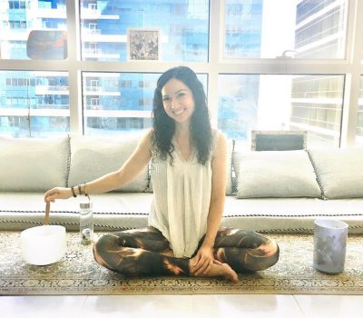 Yoga and reiki coaching in Abu Dhabi with female PT elena